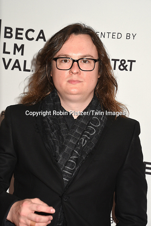 Clark Duke attends the Dog Years&quot; screening at the Tribeca Film Festival on April 22, 2017 at Cinepolis Chelsea in New York, New York, USA.<br /> <br /> photo by Robin Platzer/Twin Images<br />  <br /> phone number 212-935-0770