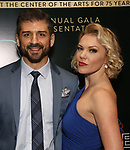 "Tony Yazbeck and Robyn Hurder attends the After Party for the New York City Center Celebrates 75 Years with a Gala Performance of ""A Chorus Line"" at the City Center on November 14, 2018 in New York City."