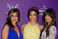 Jamie Lynn Sigler, Jenna Dewan, Lea Michele attending the 11th Annual Chrysalis Butterfly Ball held at a private residence in Los Angeles, California on 9.6.2012..Credit: Martin Smith/face to face /MediaPunch Inc. ***FOR USA ONLY*** NORTEPHOTO.COM