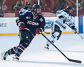 Corey Ronan (UConn - 11), Cam Brown (Maine - 21) - The University of Maine Black Bears defeated the University of Connecticut Huskies 4-0 at Fenway Park on Saturday, January 14, 2017, in Boston, Massachusetts.