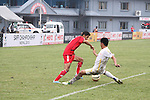 Afghanistan vs Bhutan during the 2015 AFC Cup 2015 Group B  match on September 02, 2015 at the Halchowk Stadium, in Kathmandu, Nepal. Photo by World Sport Group