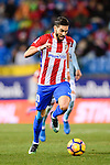 Yannick Ferreira Carrasco of Atletico de Madrid in action during their La Liga match between Atletico de Madrid and RC Celta de Vigo at the Vicente Calderón Stadium on 12 February 2017 in Madrid, Spain. Photo by Diego Gonzalez Souto / Power Sport Images