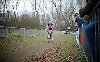 Jeremy Powers (USA/Rapha-Focus)<br /> <br /> Koksijde CX World Cup 2014
