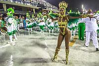 Rio de Janeiro (RJ), 22/02/2020 CARNAVAL - RJ - DESFILE - Desfile das escolas de samba Imperatriz, da Serie A, neste sabado (22), no sambodromo, no centro do Rio de Janeiro (RJ). Rainha da bateria a cantora Iza. (Foto: Ellan Lustosa/Codigo 19/Codigo 19)