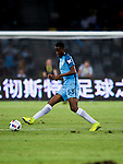 Manchester City defender Tosin Adarabioyo plays against Borussia Dortmund during the match between Manchester City FC during their 2016 International Champions Cup China match at the Shenzhen Stadium on 28 July 2016 in Shenzhen, China. Photo by Marcio Machado / Power Sport Images
