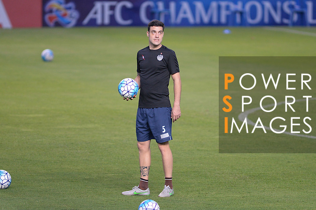 Players of BURIRAM UNITED (THA) in action during a training session on 03 May 2016, one day before the 2016 AFC Champions League Group F Match Day 6 match between BURIRAM UNITED (THA) vs SHANDONG LUNENG FC (CHN) in Buriram, Thailand.