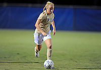 Florida International University women's soccer player Nicole DiPerna (16) plays against the University of Florida on August 21, 2011 at Miami, Florida. Florida won the game 2-0. .