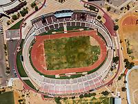 Vista aerea de Complejo deportivo de la Comisi&oacute;n Estatal de Deporte, CODESON en Hermosillo, Sonora....<br /> Estadio H&eacute;roe de Nacozari. Campo de Futbol. Cancha de Futbol. Pista de Atletismo<br /> <br /> <br /> Photo: (NortePhoto / LuisGutierrez)<br /> <br /> ...<br /> keywords: