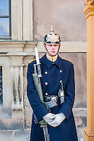 Guard at the Royal Palace - Street scenes from Stockholm