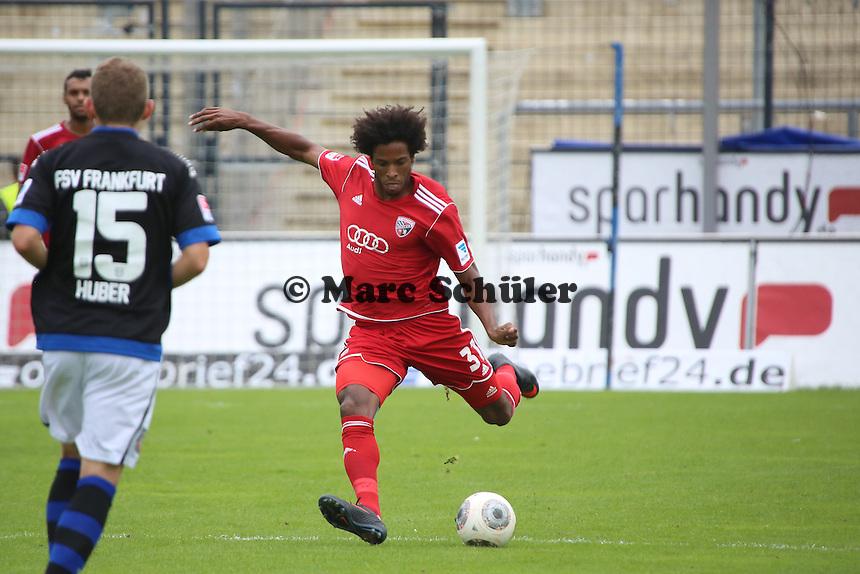 Caiuby da Silva (Ingolstadt)- FSV Frankfurt vs. FC Ingolstadt, 8. Spieltag, Frankfurter Volksbank Stadion