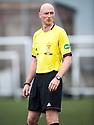 Referee Alan Newlands.