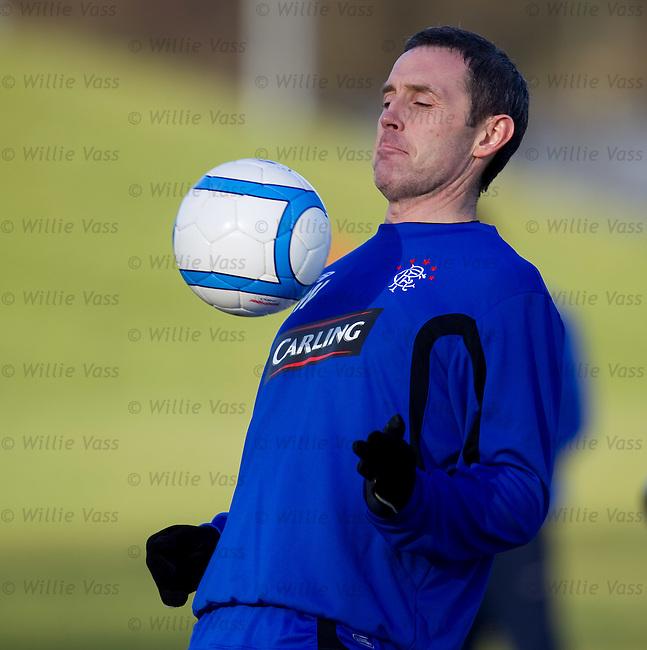 David Weir at training