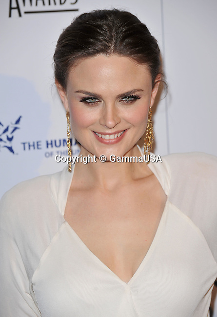 Emily Deschanel _75 - <br /> 24th Genesis Awards at the Beverly Hilton In Los Angeles.