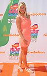 Bethany Hamilton arriving at the Nickelodeon's Kids Choice Sports Awards 2014 held at The UCLA Pauley Pavilion Los Angeles, CA. July 17, 2014.