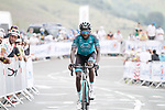 Kevin Reza (FRA) B&B Hotels-Vital Concept summits the Col de Peyresourde during Stage 8 of Tour de France 2020, running 141km from Cazeres-sur-Garonne to Loudenvielle, France. 5th September 2020. <br /> Picture: Colin Flockton | Cyclefile<br /> All photos usage must carry mandatory copyright credit (© Cyclefile | Colin Flockton)