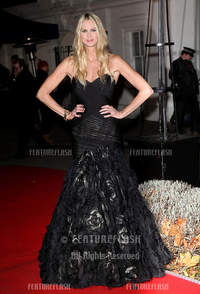 Elle Macpherson arriving for The Sun Military Awards, at The Imperial War Museum, London. 06/12/2012 Picture by: Alexandra Glen / Featureflash