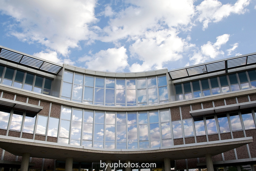 0809-01 GCS September .0809-01 GCS 018..The Hinckley Building (GBHB) and the Administration Building (ASB).  General Campus Scenics (GCS) around campus...September 26, 2008..Photo by: Mark Philbrick/BYU..Copyright BYU PHOTO 2008.All Rights Reserved.801-422-7322.photo@byu.edu..