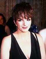 Liza Minnelli 1990<br /> Photo By Adam Scull/PHOTOlink.net