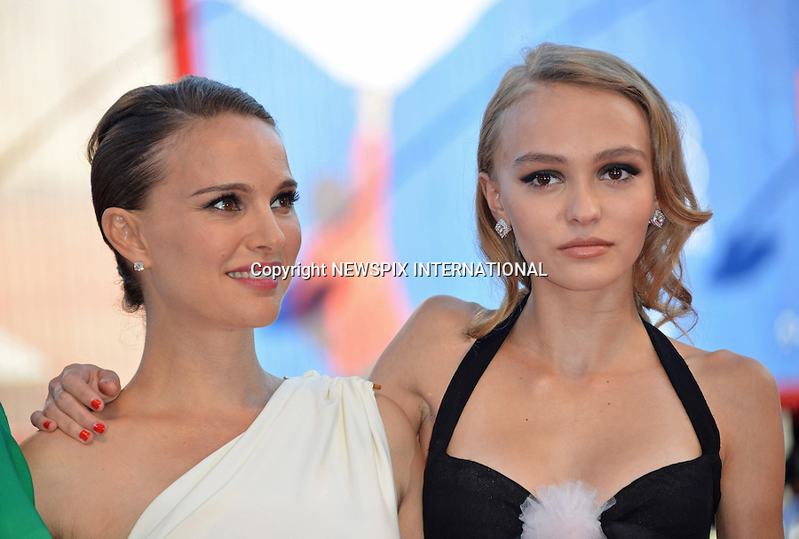 08.09.2016; Venice, Italy: NATALIE PORTMAN AND LILY-ROSE DEPP<br /> attend the premiere of &ldquo;Planetarium&rdquo; at the 73rd Venice Film Festival.<br /> Mandatory Credit Photo: &copy;Pixonline/NEWSPIX INTERNATIONAL<br /> <br /> PHOTO CREDIT MANDATORY!!: NEWSPIX INTERNATIONAL(Failure to credit will incur a surcharge of 100% of reproduction fees)<br /> <br /> IMMEDIATE CONFIRMATION OF USAGE REQUIRED:<br /> Newspix International, 31 Chinnery Hill, Bishop's Stortford, ENGLAND CM23 3PS<br /> Tel:+441279 324672  ; Fax: +441279656877<br /> Mobile:  0777568 1153<br /> e-mail: info@newspixinternational.co.uk<br /> Please refer to usage terms. All Fees Payable To Newspix International