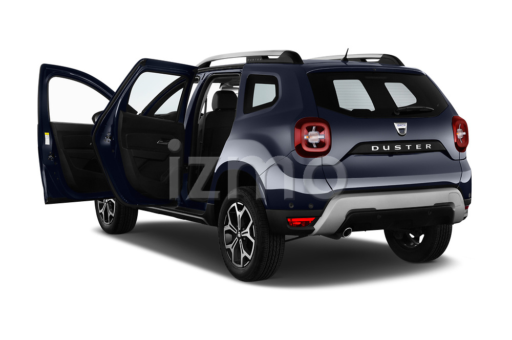Car images close up view of a 2018 Dacia Duster Duster 5 Door SUV doors