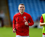 Caolan Lavery of Sheffield Utd during the English League One match at Glanford Park Stadium, Scunthorpe. Picture date: September 24th, 2016. Pic Simon Bellis/Sportimage