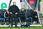 BETALBILD Solna 2015-03-07 Fotboll Allsvenskan AIK - Hammarby IF :  <br /> AIK:s chefstr&auml;nare tr&auml;nare Andreas Alm under matchen mellan AIK och Hammarby IF <br /> (Foto: Kenta J&ouml;nsson) Nyckelord:  AIK Gnaget Friends Arena Svenska Cupen Cup Derby Hammarby HIF Bajen portr&auml;tt portrait