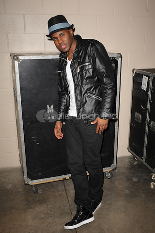 SUNRISE, FL - DECEMBER 12 : Jason Derulo poses backstage at the Y-100 Jingle ball held at the Bank Atlantic center on December 12, 2009 in Fort Lauderdale Florida. Credit: mpi04/MediaPunch
