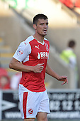 11/08/2015 Capital One Cup, First Round Fleetwood Town v Hartlepool United<br /> Stephen Jordan