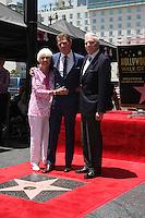Dorothy Flay, Bobby Flay, Bill Flay at the Bobby Flay Hollywood Walk of Fame Ceremony, Hollywood, CA 06-02-15<br /> David Edwards/DailyCeleb.com 818-249-4998