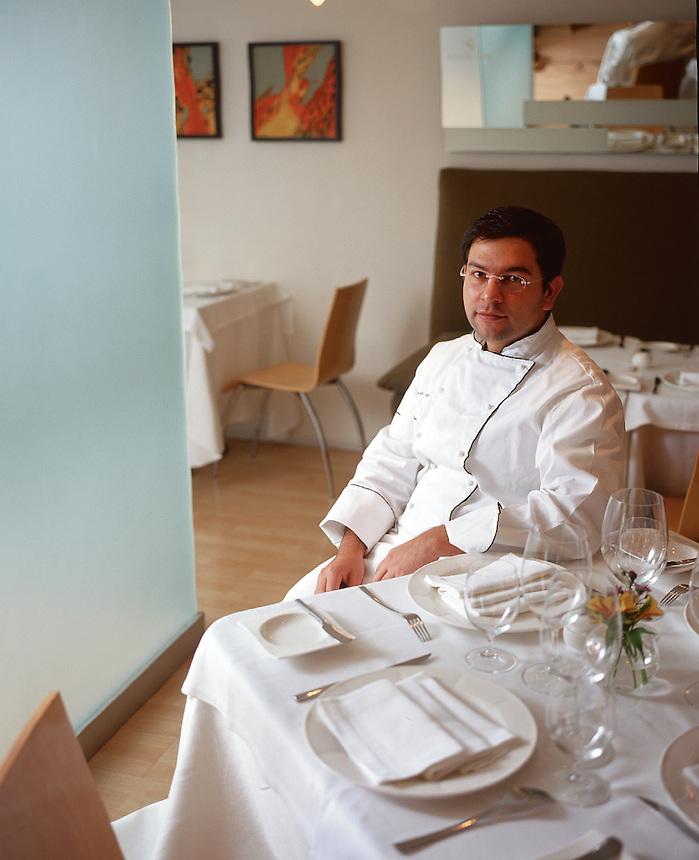 Enrique Olvera, chef of Pujol, one of Mexico City's top restaurants in Polanco.