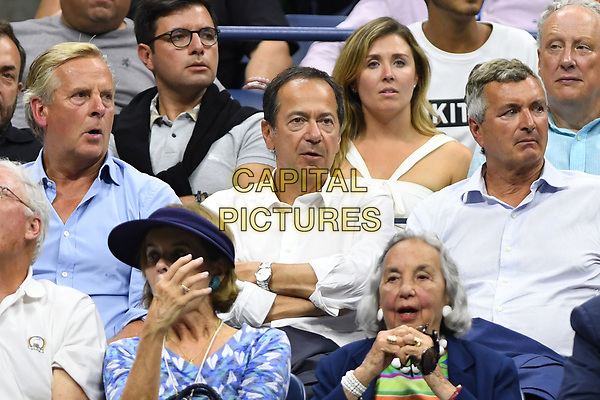 FLUSHING NY- SEPTEMBER 05: ***NO NY DAILIES***  John Paulson is sighted watching Venus Williams Vs Petra Kvitova on Arthur Ashe Stadium during the US Open at the USTA Billie Jean King National Tennis Center on September 5, 2017 in Flushing Queens. <br /> CAP/MPI04<br /> &copy;MPI04/Capital Pictures