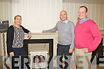 Leslie Harris pictured with proprietors Paul and Neil Fitzgibbon, Fitzgibbon Bros, Tralee.