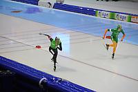 SCHAATSEN: HEERENVEEN: 28-12-2013, IJsstadion Thialf, KNSB Kwalificatie Toernooi (KKT), 10.000m, Sven Kramer, Jorrit Bergsma, ©foto Martin de Jong