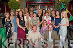 ROSE BUDS PARENTS: The parents of the Rose Buds enjoying a night out at Station House, Blennerville on Saturday.