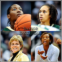 Baylor Women's Baseketball including head coach Kim Mulkey.