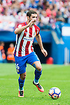 Atletico de Madrid's player Sime Vrsaljko during a match of La Liga Santander at Vicente Calderon Stadium in Madrid. September 17, Spain. 2016. (ALTERPHOTOS/BorjaB.Hojas)