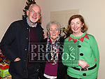 Frank Bruton, Theresa Healy and Mairead White at the social evening in Monknewtown Community Centre. Photo:Colin Bell/pressphotos.ie