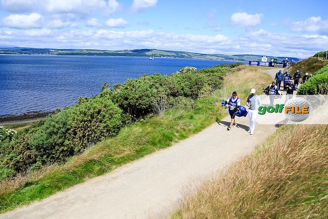 Lucas Bjerregaard (DEN) during round 2 of the Aberdeen Asset Management Scottish Open 2016, Castle Stuart  Golf links, Inverness, Scotland. 08/07/2016.<br /> Picture Fran Caffrey / Golffile.ie<br /> <br /> All photo usage must carry mandatory copyright credit (&copy; Golffile | Fran Caffrey)