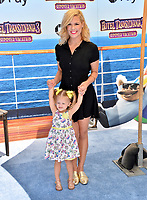 "Kimberly Caldwell Harvey & Daughter at the world premiere for ""Hotel Transylvania 3: Summer Vacation"" at the Regency Village Theatre, Los Angeles, USA 30 June 2018<br /> Picture: Paul Smith/Featureflash/SilverHub 0208 004 5359 sales@silverhubmedia.com"