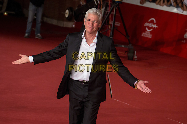 ROME, ITALY - OCTOBER 19: Richard Gere attends the 'Time Out of Mind' Red Carpet during the 9th Rome Film Festival on October 19, 2014 in Rome, Italy.<br /> CAP/IND/LC<br /> &copy;LC/IND/Capital Pictures