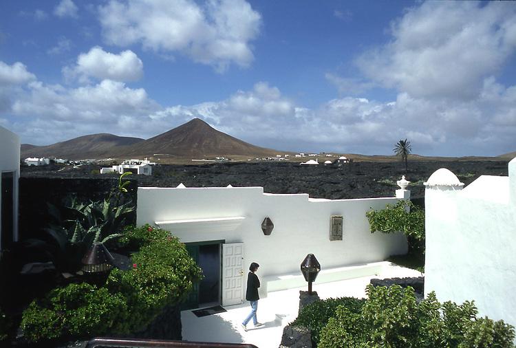 Paesaggi del mondo. L'isola di Lanzarote nelle Canarie.