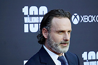 """LOS ANGELES - OCT 22:  Andrew Lincoln at the """"The Walking Dead"""" 100th Episode Celebration at the Greek Theater on October 22, 2017 in Los Angeles, CA"""