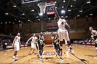 SAN ANTONIO, TX - NOVEMBER 19, 2010: The Cameron University Aggies vs. the University of Texas at San Antonio Roadrunners Men's Basketball at the UTSA Convocation Center. (Photo by Jeff Huehn)