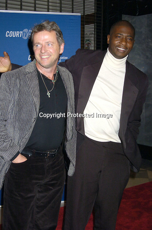 "Aidan Quinn and David Brown, Jr ..at The New York Permiere of the Court TV Original Movie   ""The Exonerated"" at The Museum of TV and Radio on ..January 25, 2005. ..Photo by Robin Platzer, Twin Images"