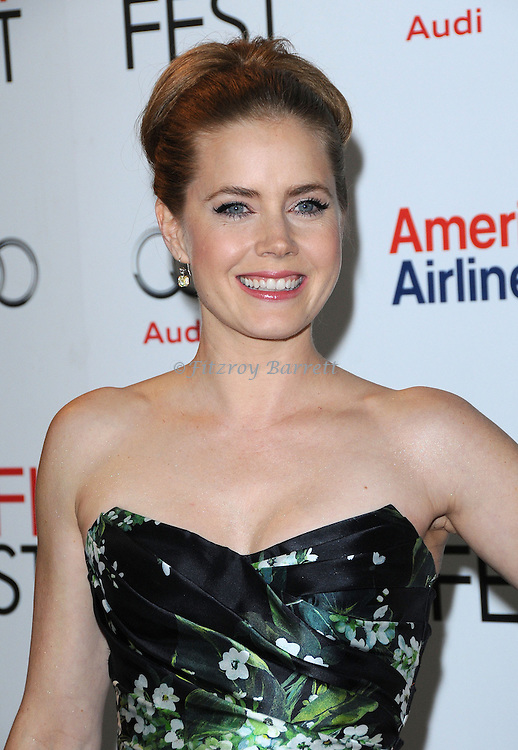 "Amy Adams at the AFI Fest 2012 screening of ""On The Road"" held at Grauman's Chinese Theatre Hollywood, CA. November 3, 2012"