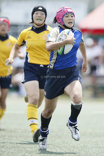 Keiko Kato (Setagaya),<br /> JULY 20, 2014 - Rugby : <br /> Women's Sevens Series 2014 Yokohama <br />  24-	21 <br /> at YCAC ground in Kanagawa, Japan. <br /> (Photo by Shingo Ito/AFLO SPORT) [1195]