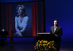 Mark Mazzie during the Celebrate the Life of Marin Mazzie Memorial Service at the Gershwin Theatre on October 25, 2018 in New York City.