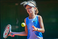 Hilversum, Netherlands, August 6, 2018, National Junior Championships, NJK, Emily Schut (NED)<br /> Photo: Tennisimages/Henk Koster