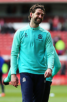Blackburn Rovers' Charlie Mulgrew during the pre-match warm-up <br /> <br /> Photographer David Shipman/CameraSport<br /> <br /> The EFL Sky Bet Championship - Nottingham Forest v Blackburn Rovers - Saturday 13th April 2019 - The City Ground - Nottingham<br /> <br /> World Copyright © 2019 CameraSport. All rights reserved. 43 Linden Ave. Countesthorpe. Leicester. England. LE8 5PG - Tel: +44 (0) 116 277 4147 - admin@camerasport.com - www.camerasport.com