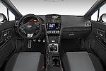 Stock photo of straight dashboard view of 2017 Subaru WRX 2 4 Door Sedan Dashboard